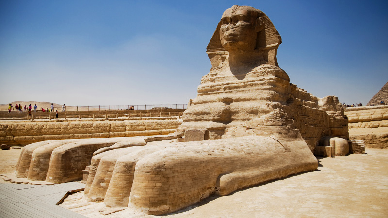 Egypt Great Sphinx Paws 800x450