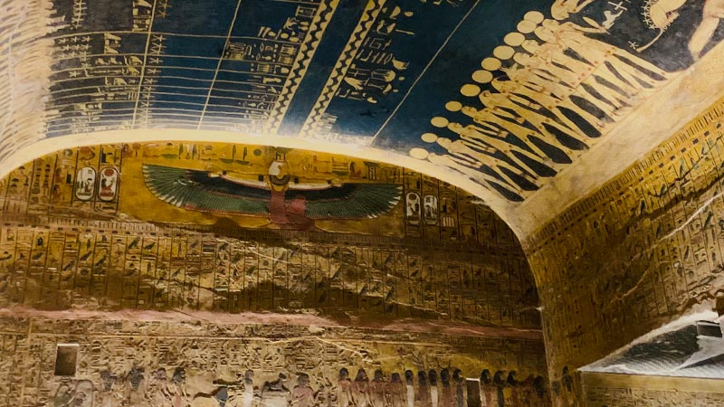 Middle East Egypt Seti I Tomb 800x450