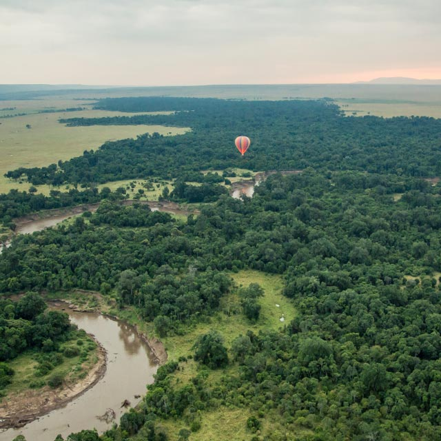 10 Africa Kenya Masai Mara Hot Air Balloon