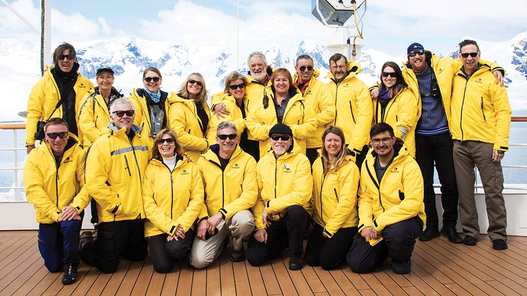 Antarctica Expedition Team