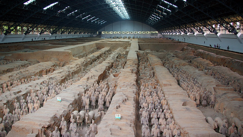 Asia China Terra Cotta Warriors 1