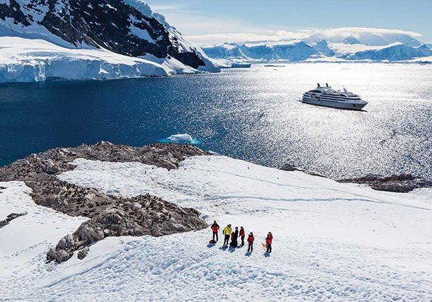 Antarctica Ship Guests Landing search