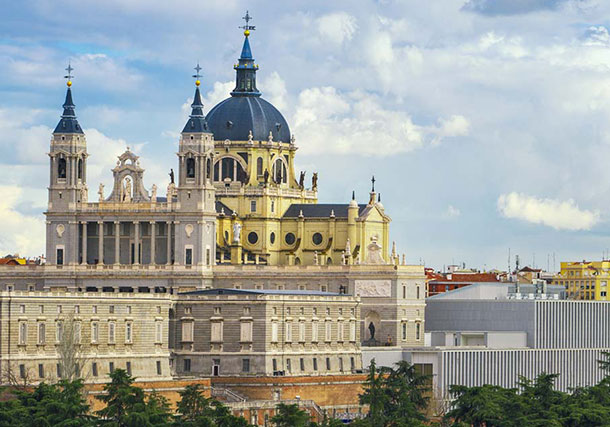 Europe Spain Madrid Royal Palace search