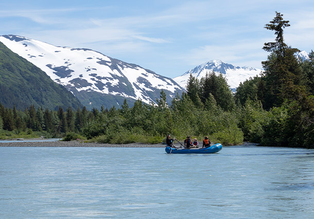 North America Alaska National Park Rafting search