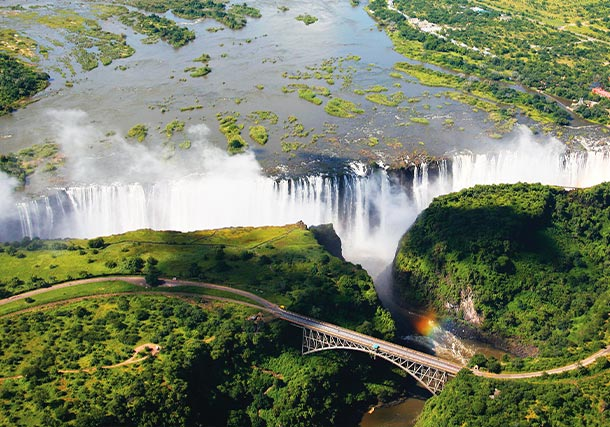 South Africa Victoria Falls video search