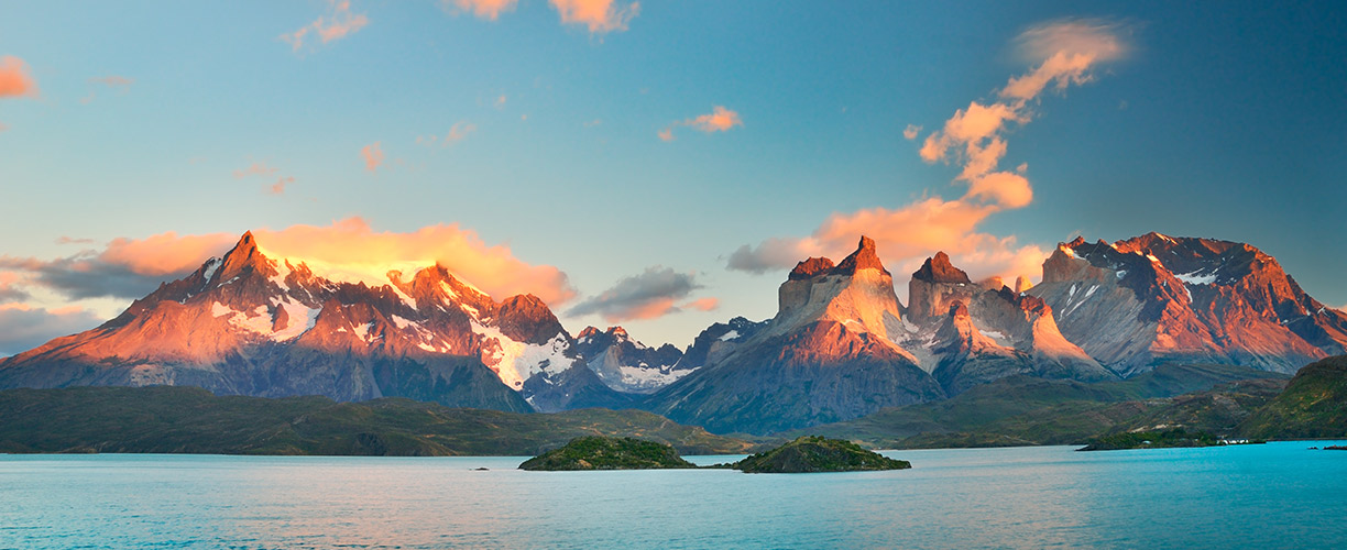 South America Patagonia Horns