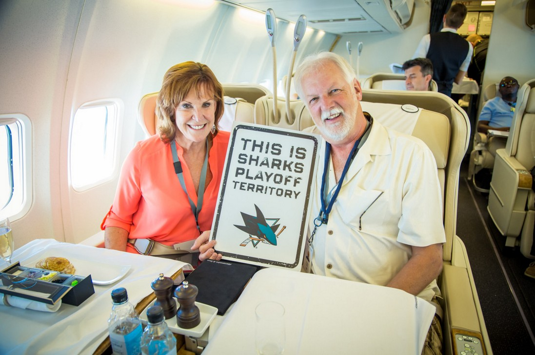 private jet may 2016 guests sharks