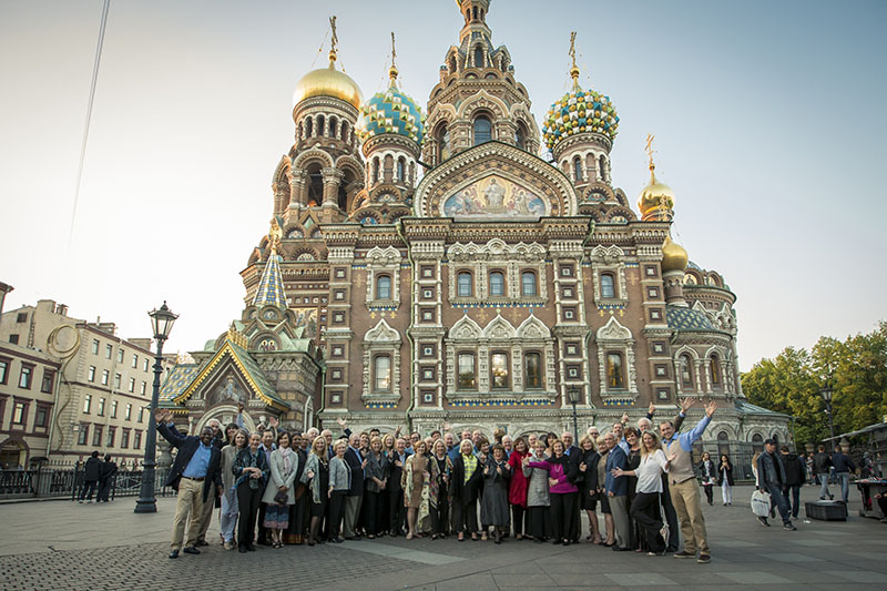 Russia St. Petersburg  Church Spilled Blood