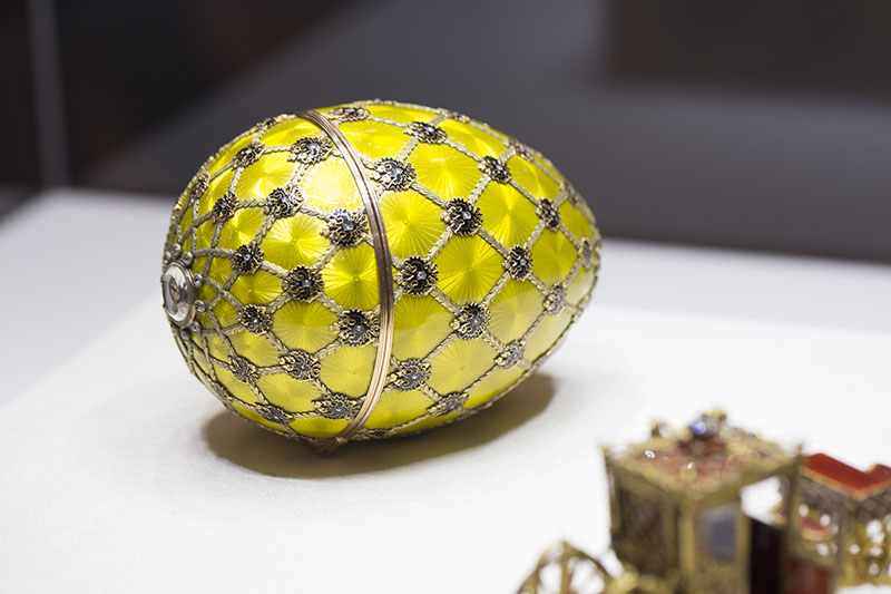 Russia St. Petersburg  Faberge Egg