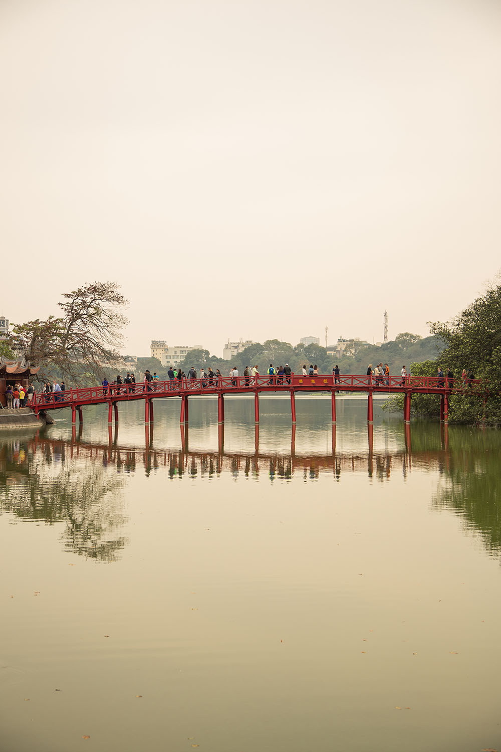 Indochina Day 1: Hanoi , Vietnam, bridge