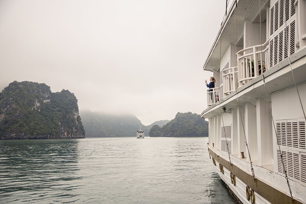 Indochina Day 3: Halong Bay to Danang, Halong Jasmine