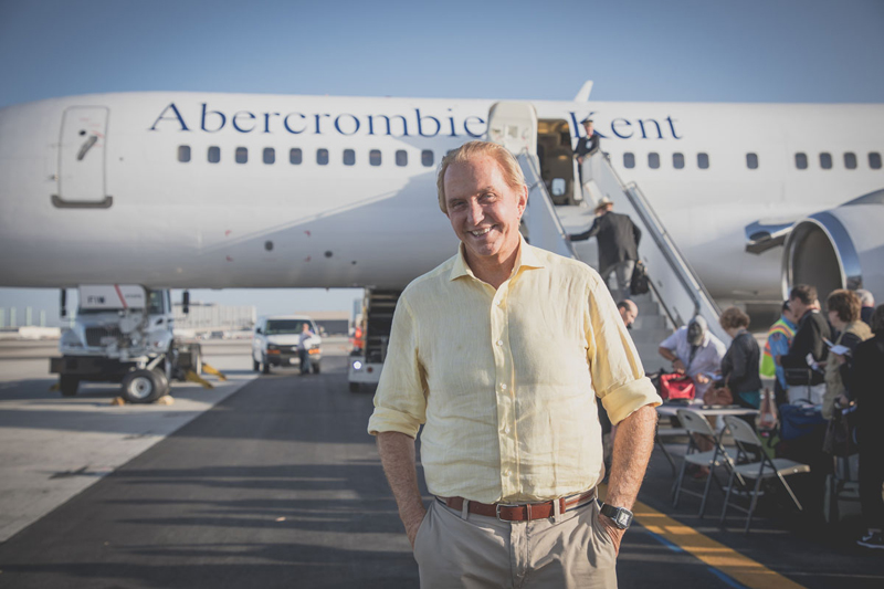 Around the World with Geoffrey Kent Private Jet