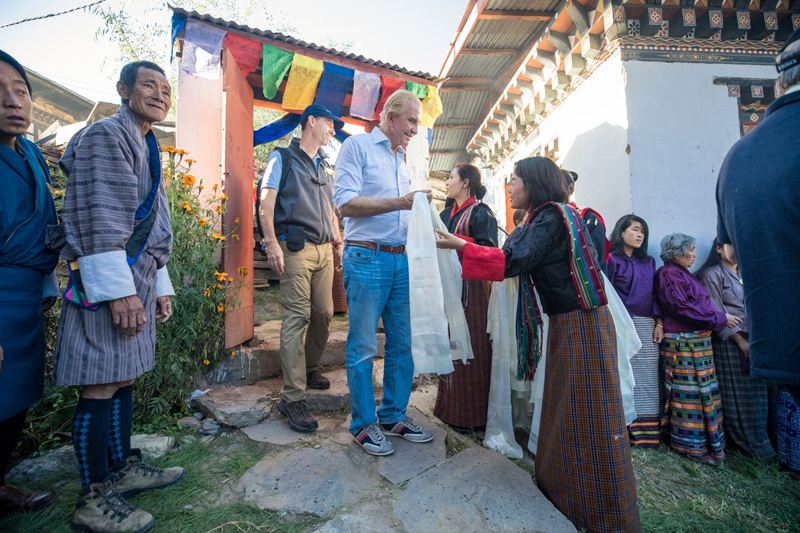 Private Jet Around the World with Geoffrey Kent Bhutan and Nepal