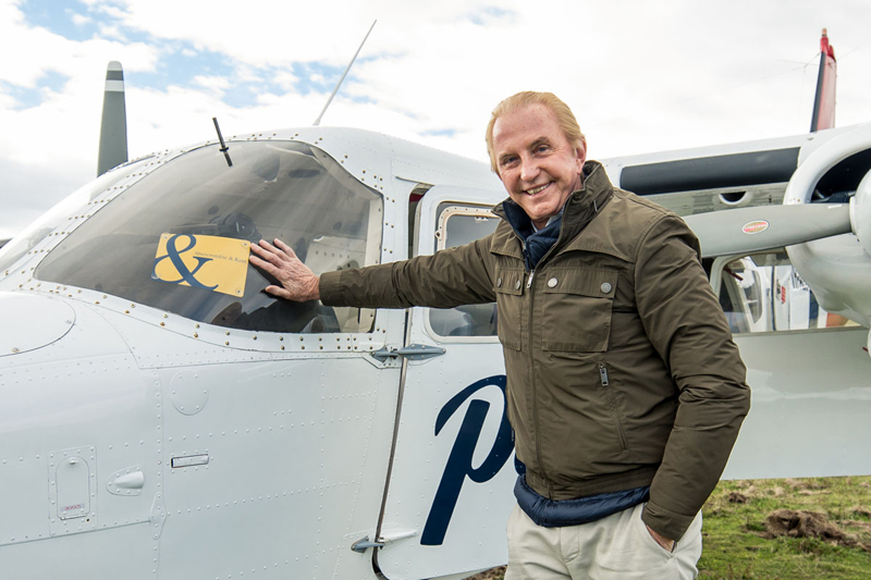 Private Jet Around the World with Geoffrey Kent Tasmania