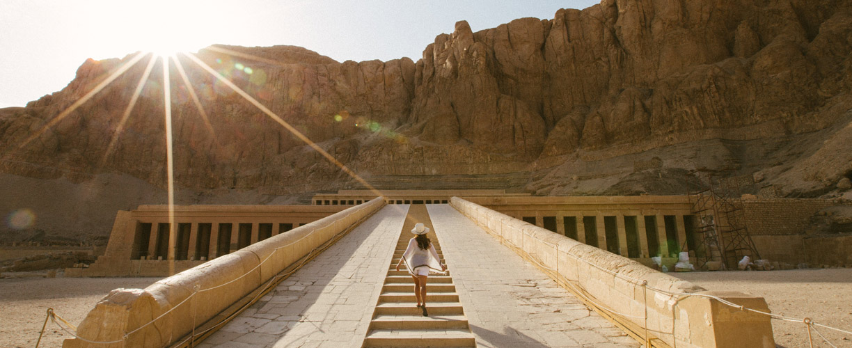 Middle East Egypt Temple Hatshepsut
