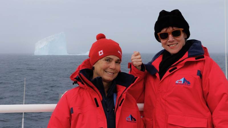 Guests with the First Iceberg View
