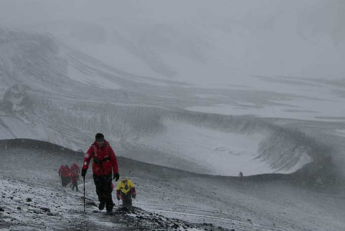 Hike on Crater Rim Deception Island