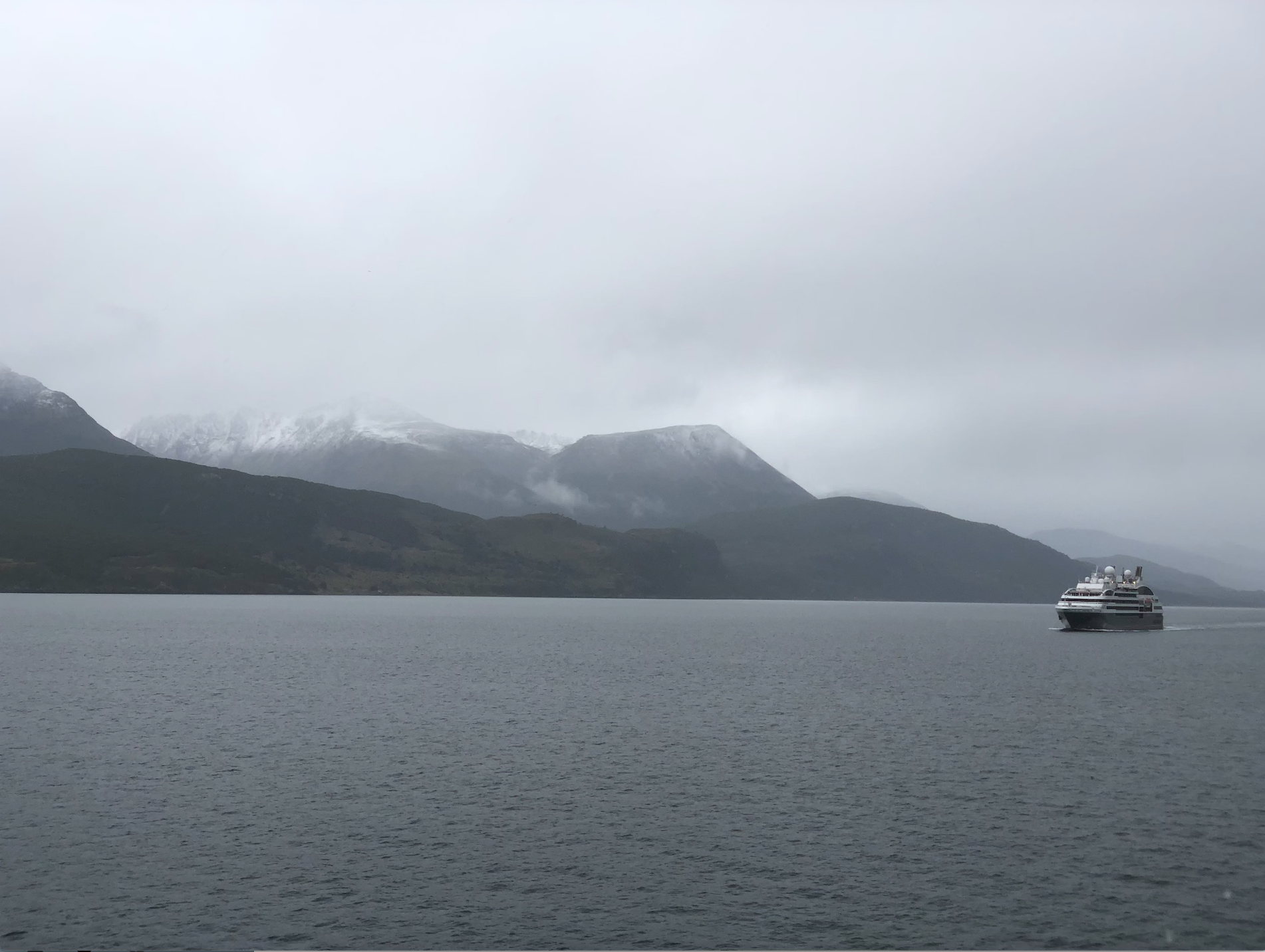 Beagle Channel Ship