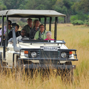 Africa Bostwana Okavango Vehicle