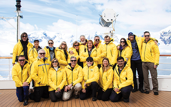 Antarctica Group Photo
