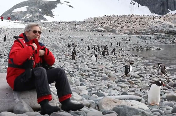 Renowned Climate Expert Dr. Jim McClintock Explains the Unique Ecology of the Antarctic