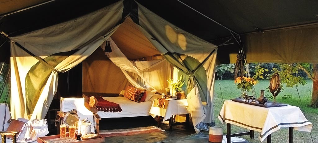 Mobile Tented Camp