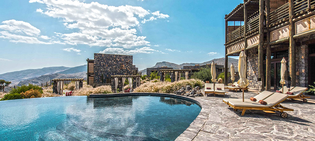 Asia Oman Alila Jabal Akhdar Outdoor pool