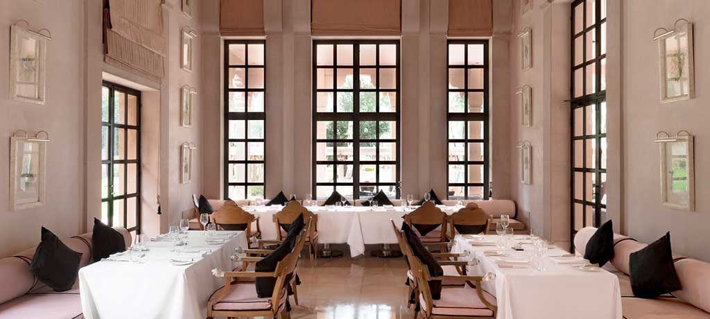 Middle-East-India-Rajasthan-Amanbagh-Dining