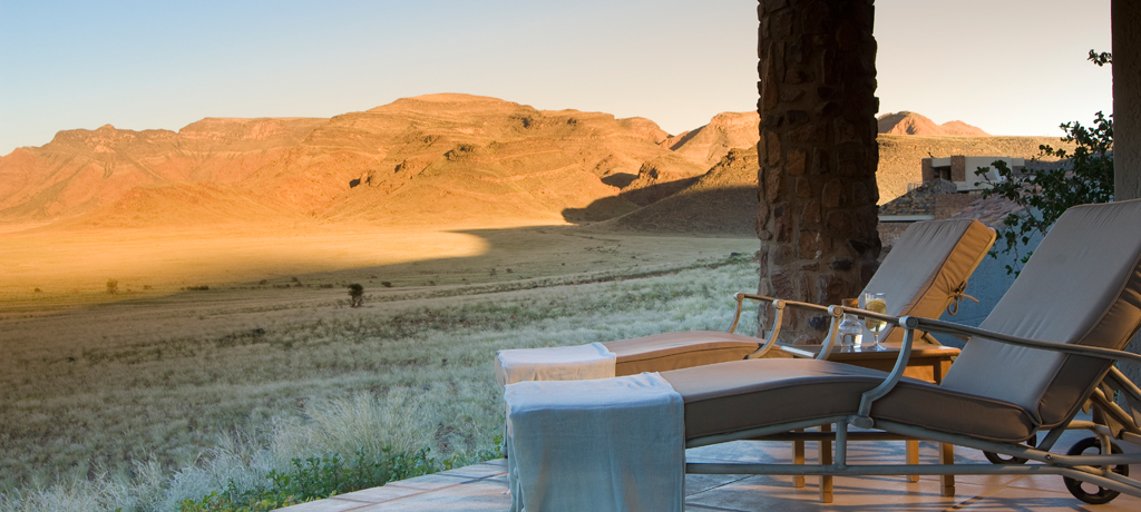 africa namibia andbeyond sossusvlei desert lodge guesteroom terrace