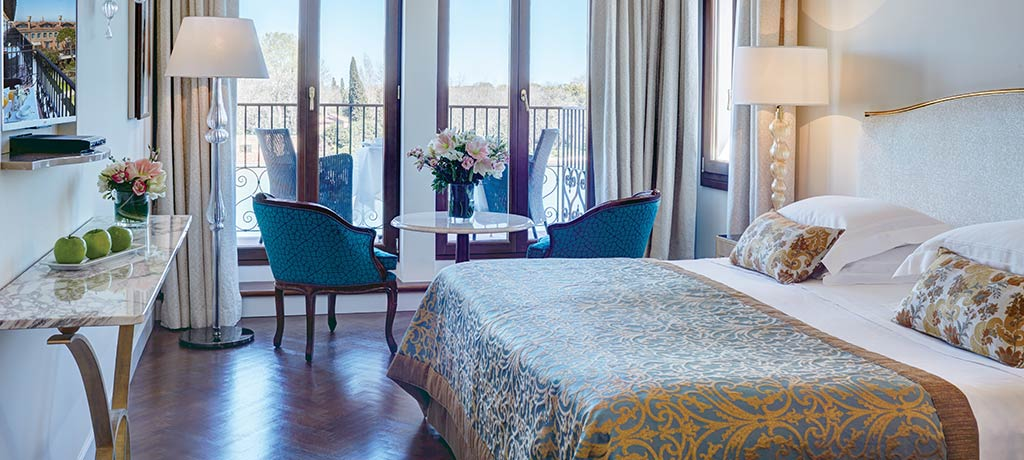 europe italy venice belmond hotel cipriani double lagoon view and balcony room