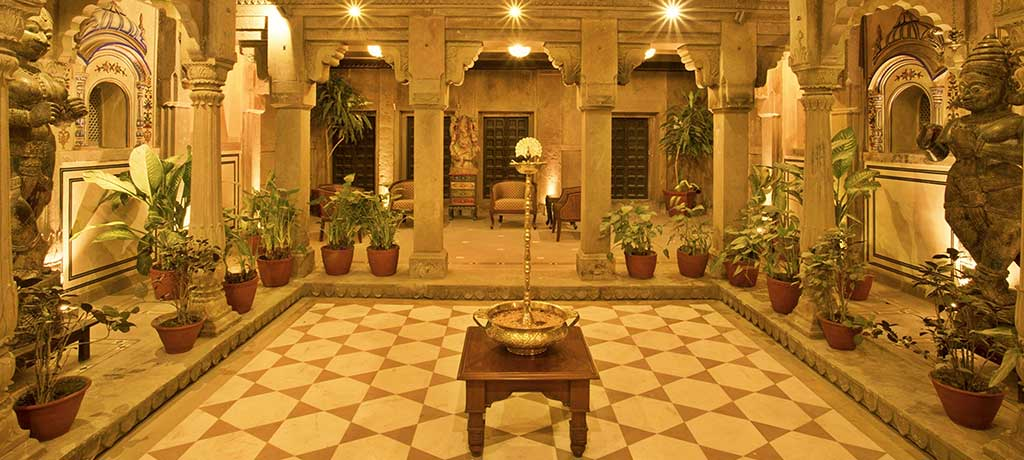 Middle East India Brij Rama Palace Varanasi Lobby