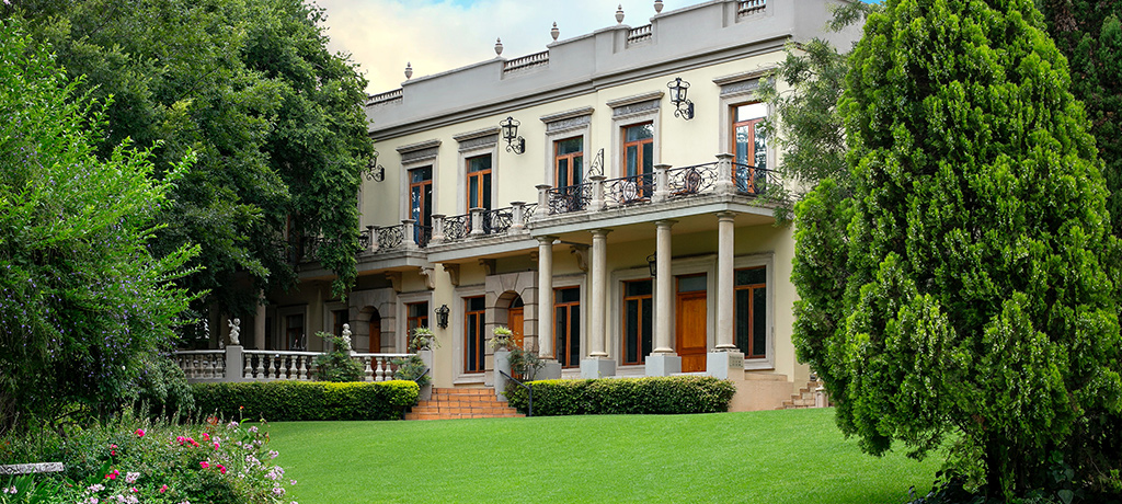 South Africa Fairlawns Boutique Hotel and Spa Grand Chateau Suite Exterior