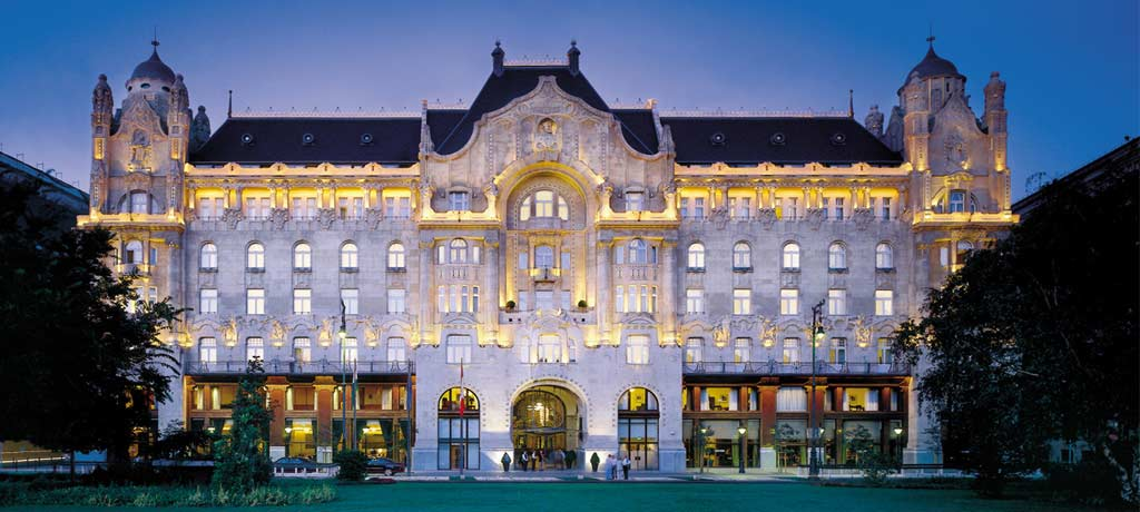 europe hungary budapest four seasons gresham palace exterior