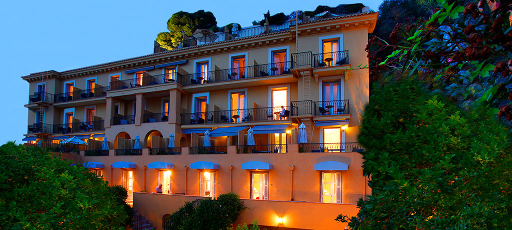 Europe France Nice Hotel La Perouse Exterior