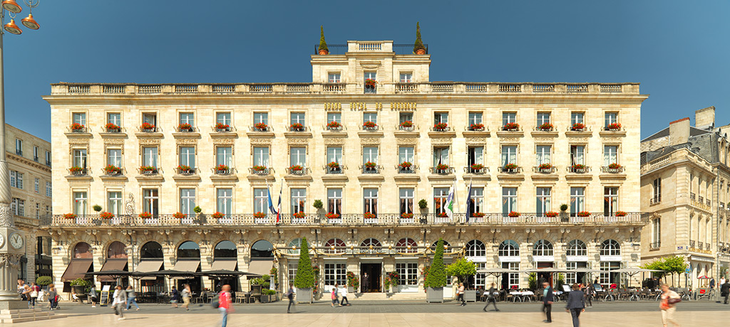 France Bordeaux Inter Continental Bordeaux Le Grand Hotel Exterior