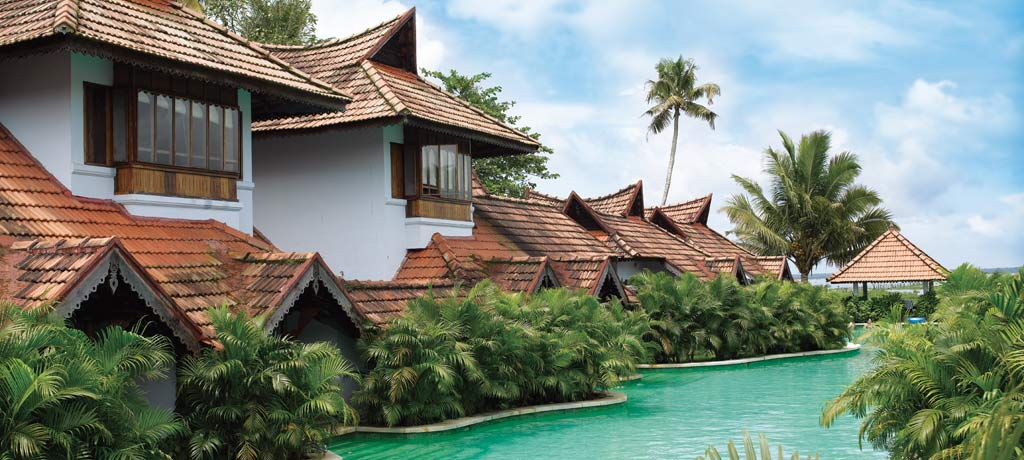 meandering pool villas