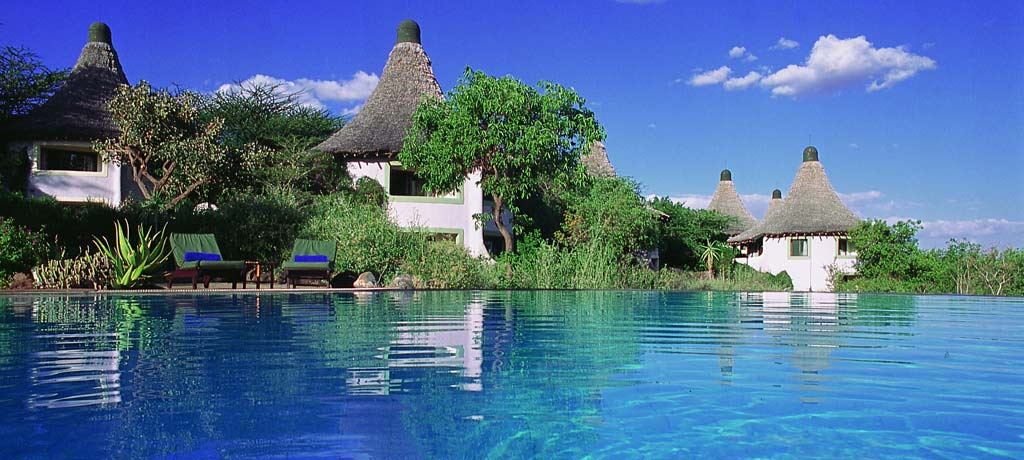 africa tanzania lake manyara serena safari lodge exterior and pool