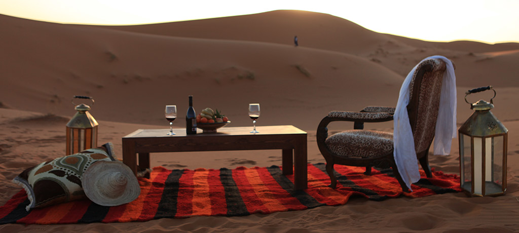 Africa Morocco Luxury Desert Camp