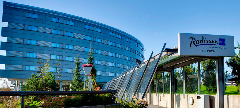Europe Norway Hotellvegen Radisson Blu Airport Hotel Exterior
