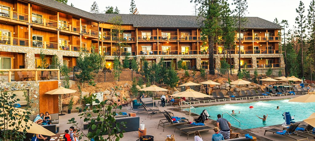 North America United States California Rush Creek Lodge Exterior 02