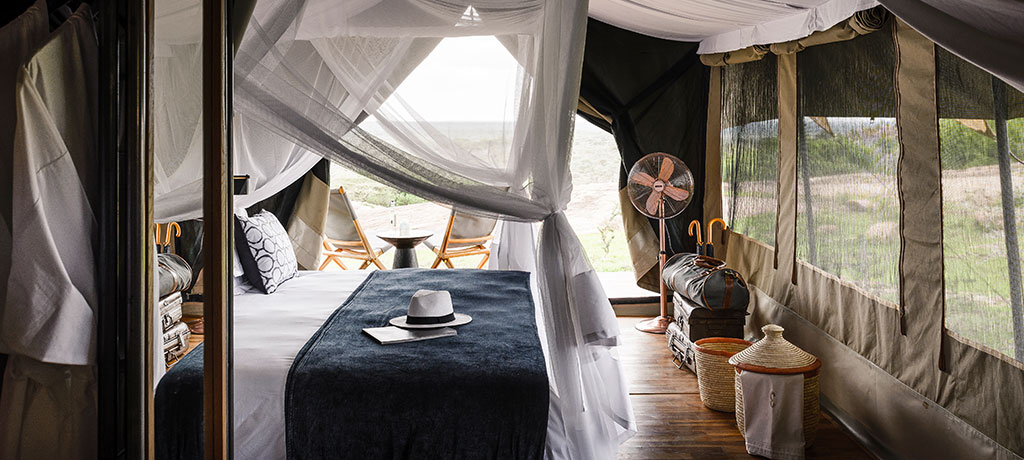 Africa Tanzania Serengeti National Park Sanctuary Kichakani Serengeti Camp Guest Room
