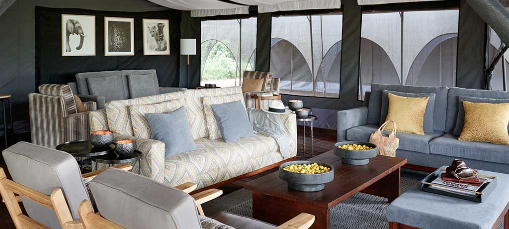 africa tanzania ngorongoro sanctuary ngorongoro crater camp lounge