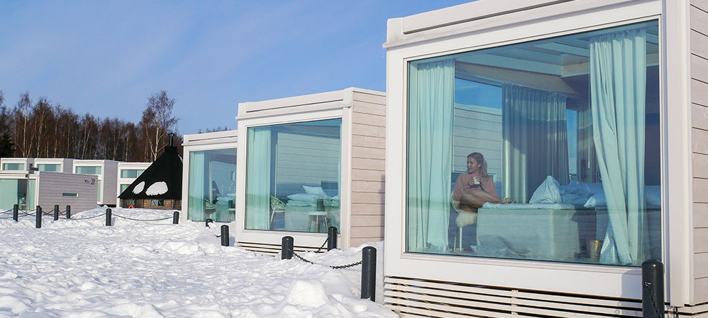 Europe Finland Kemi Seaside Glass Villas Exterior