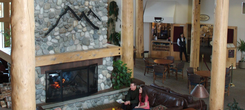 north america united states talkeetna alaskan lodge lobby