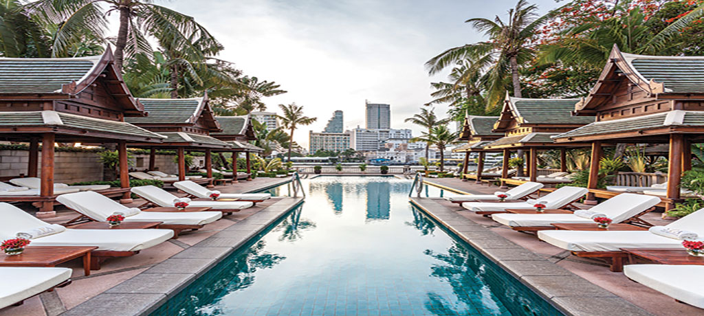 asia thailand the peninsula bangkok pool 2