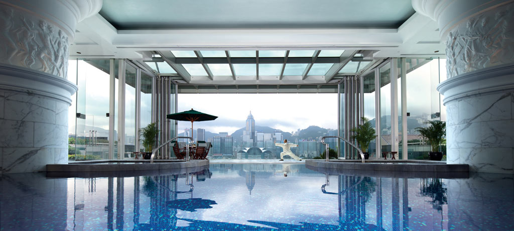 asia china hong kong peninsula hong kong pool spa tai chi