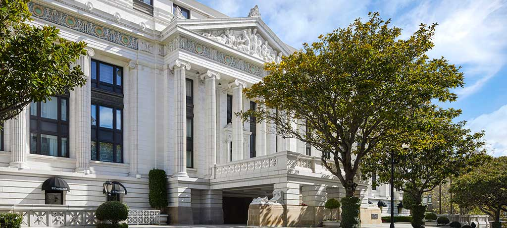 north america US california san francisco ritz carlton san francisco exterior