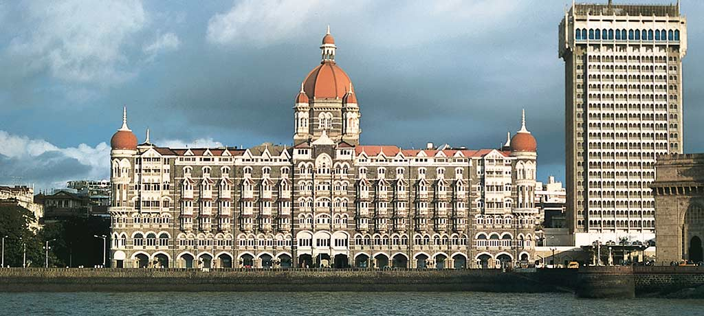 india mumbai the taj mahal palace exterior