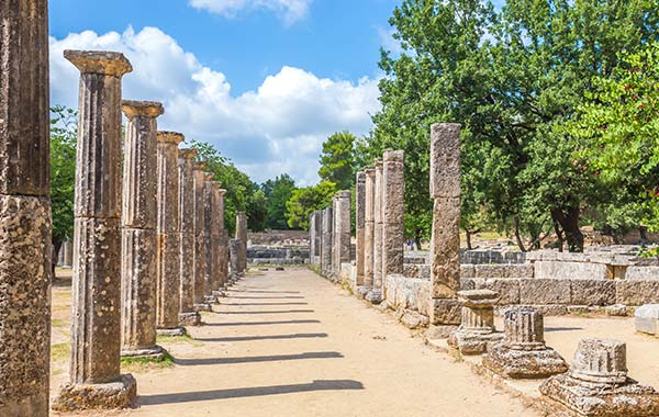 Europe Greece Peloponnese Olympia Ext 2021