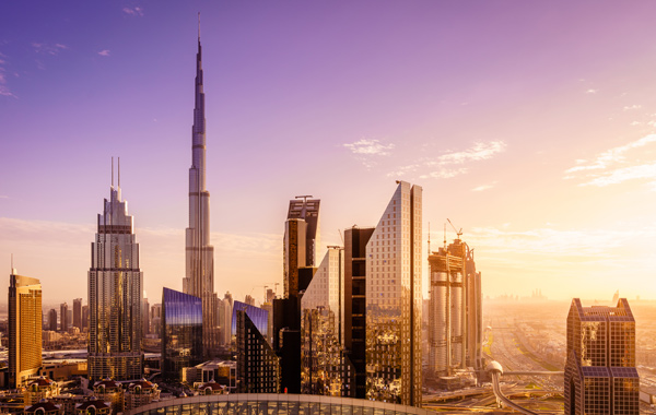 Middle-East-UAE-Dubai-Skyline-2020